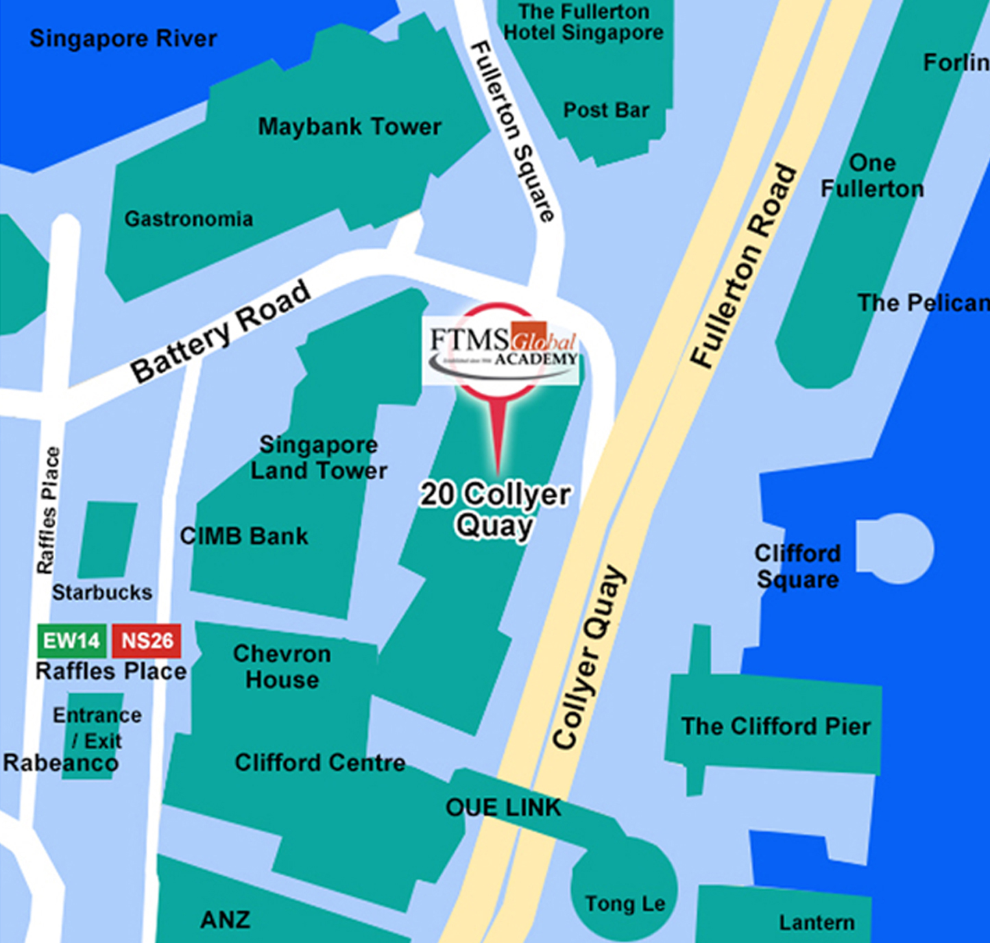 Collyer Quay Map