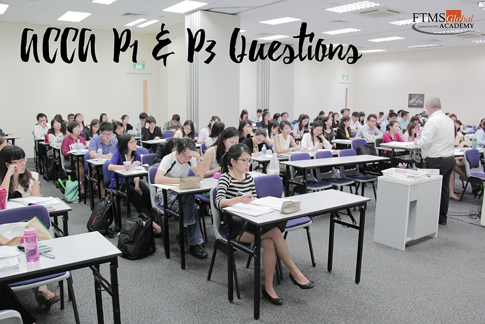 FTMSGlobal Academy - Official Blog - ACCA P1 & P3 Questions