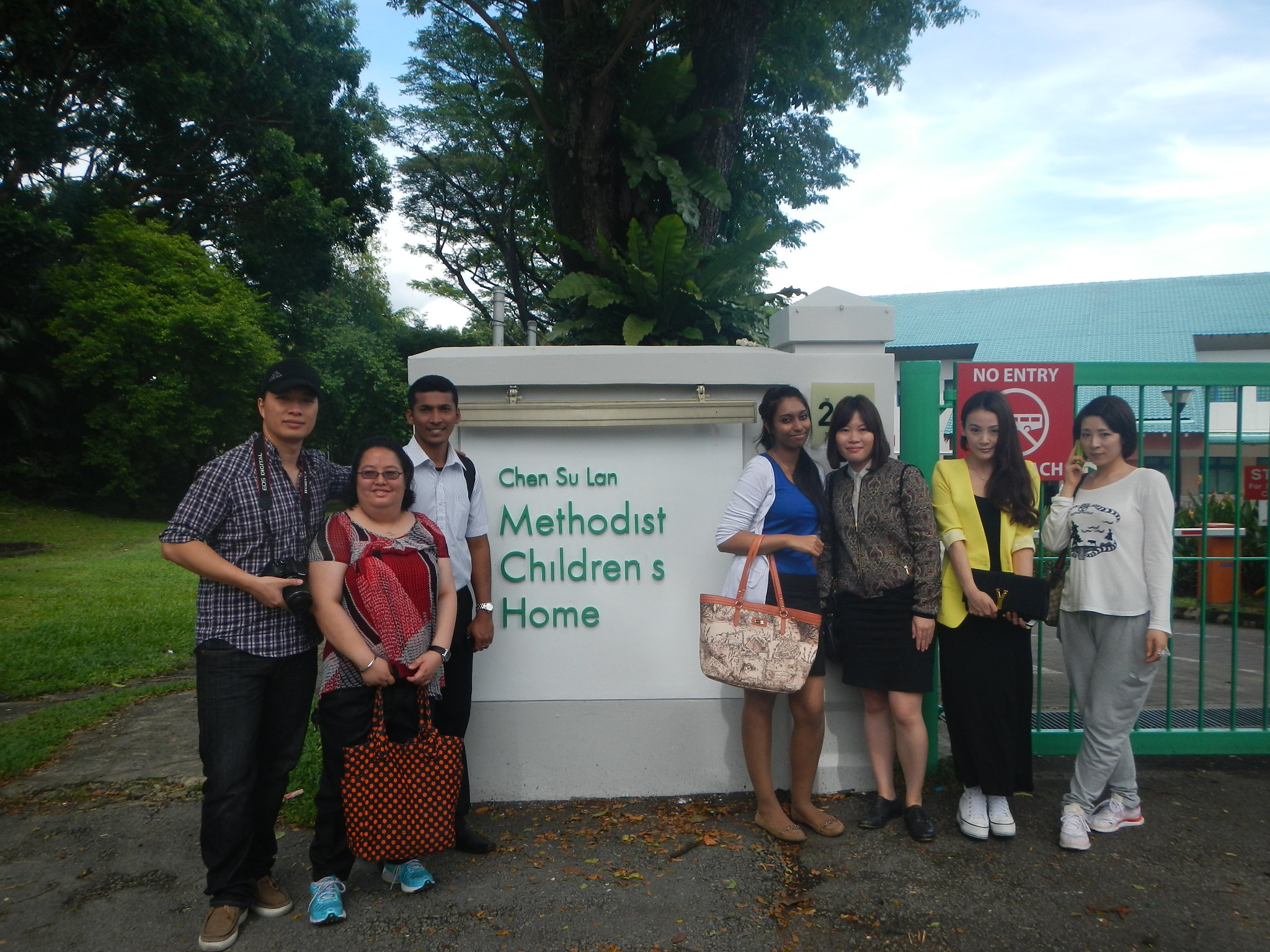 Charity Work at Methodist Children's Home
